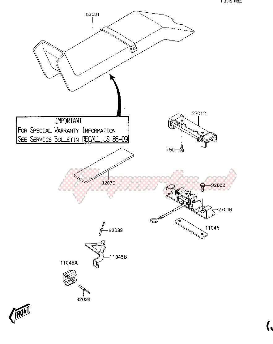 SEAT -- JF650-A2- - image