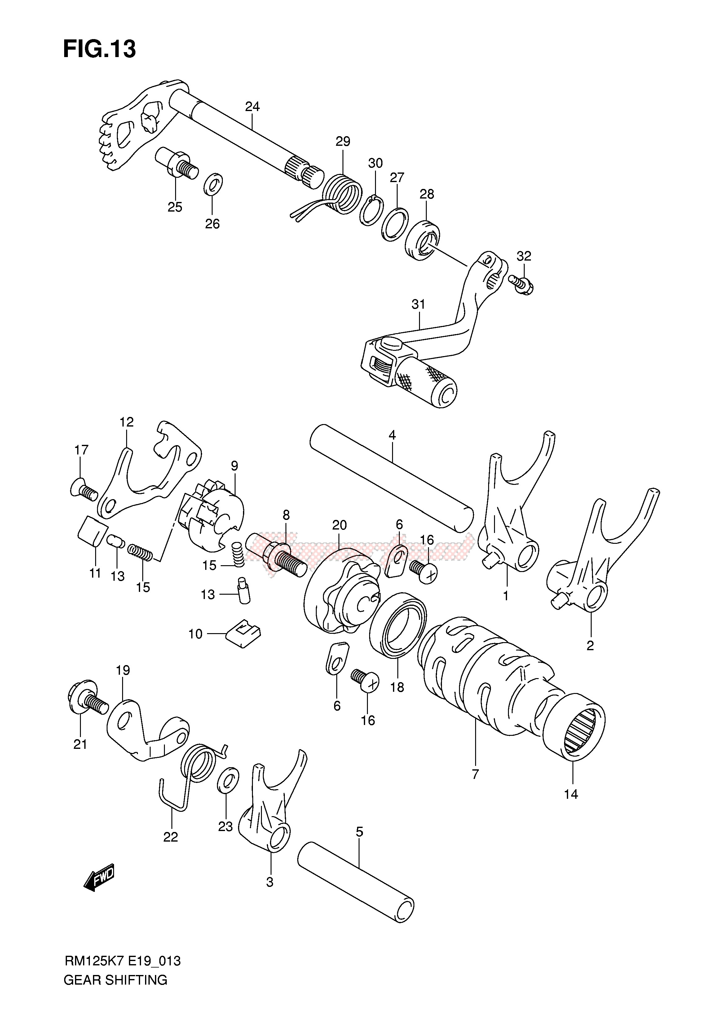 GEAR SHIFTING blueprint