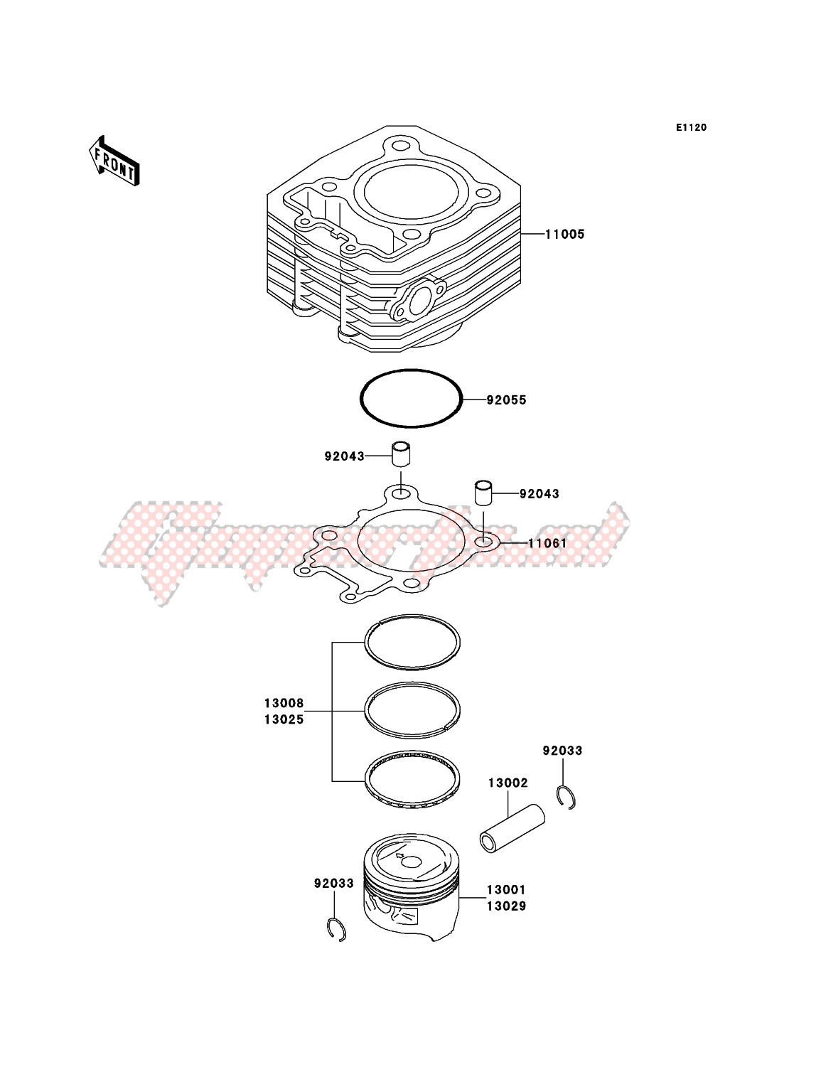 Engine-Cylinder/Piston(s)