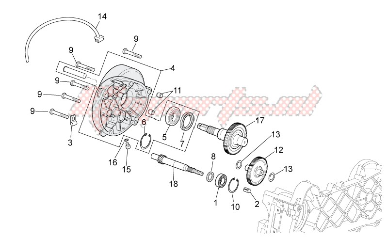 Engine-Transmission final drive