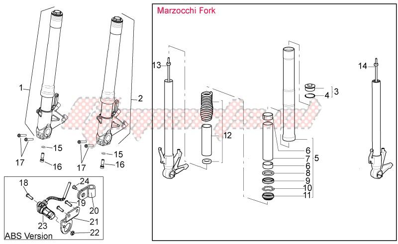 Front fork II image
