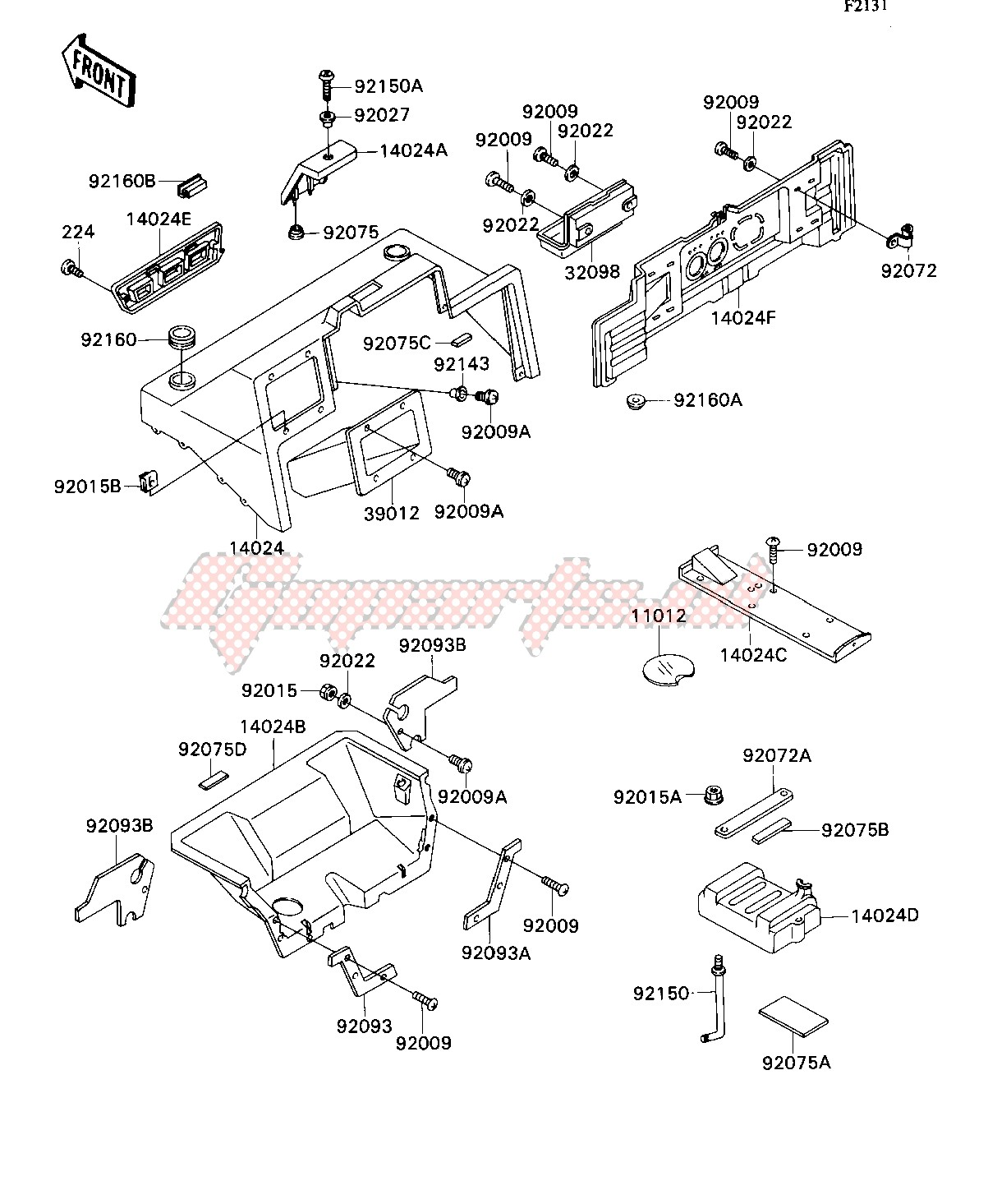 FRAME FITTING-- COVER- - image