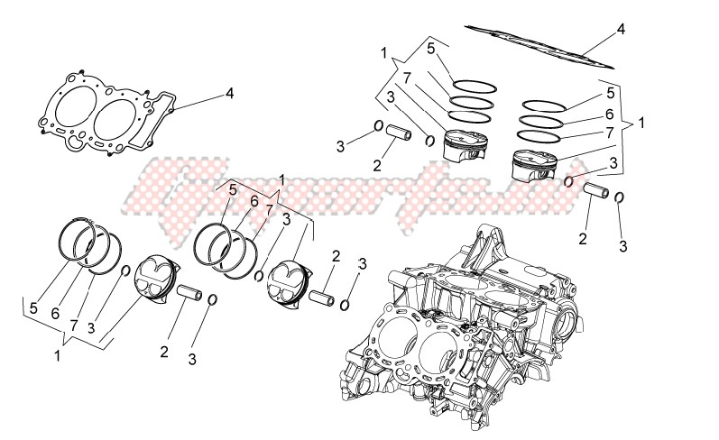 Engine-Cylinder - Piston