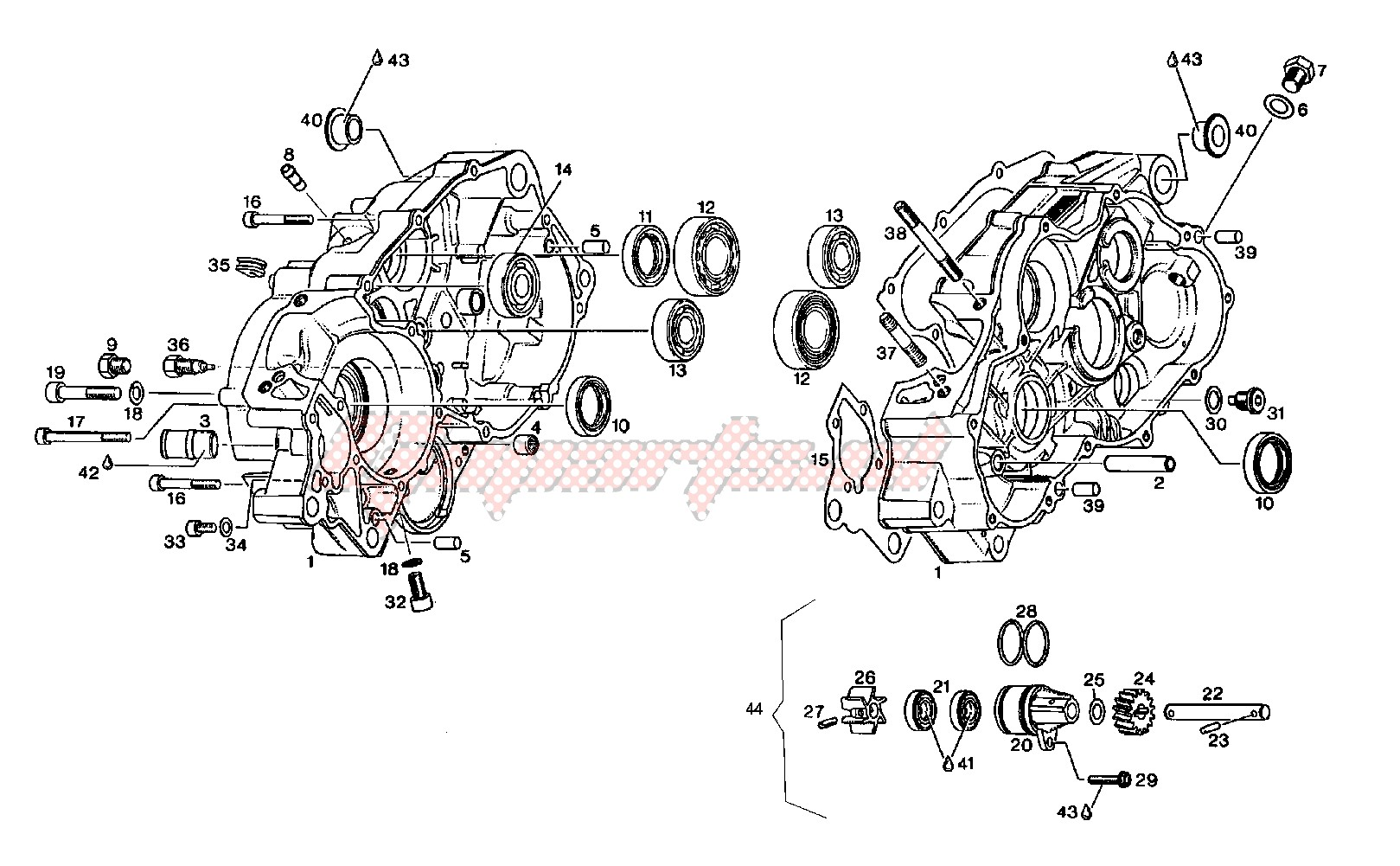 Engine-Crankcase
