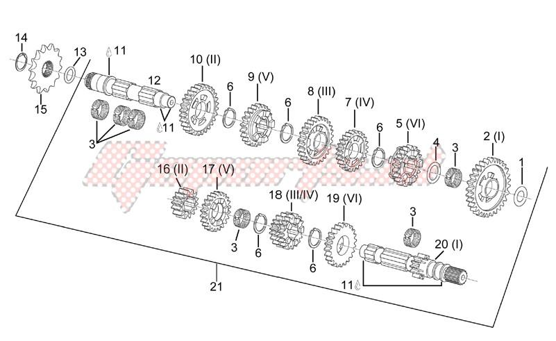 Transmission 6 speed image