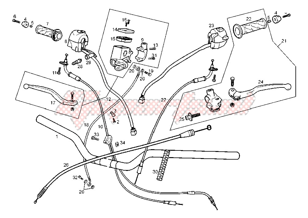 HANDLEBAR-DRIVE CONTROLS image