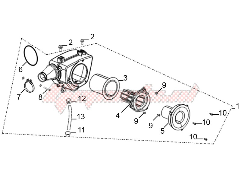 Air cleaner assembly image