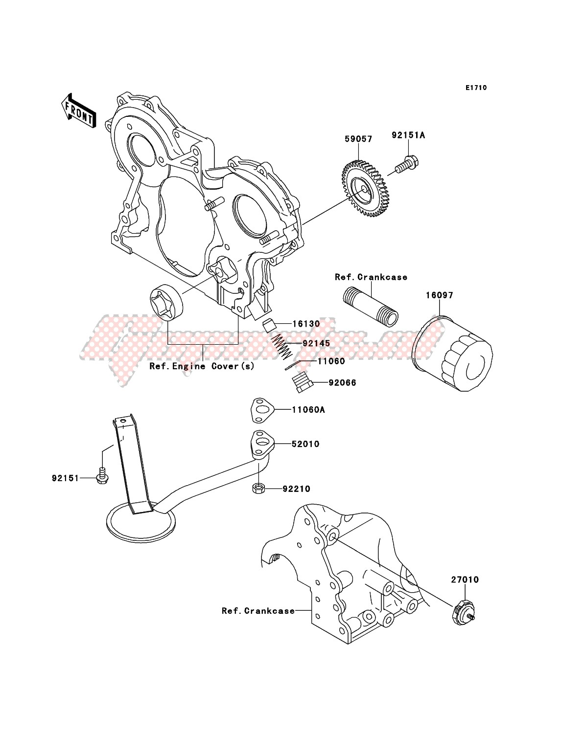 Engine-Oil Pump