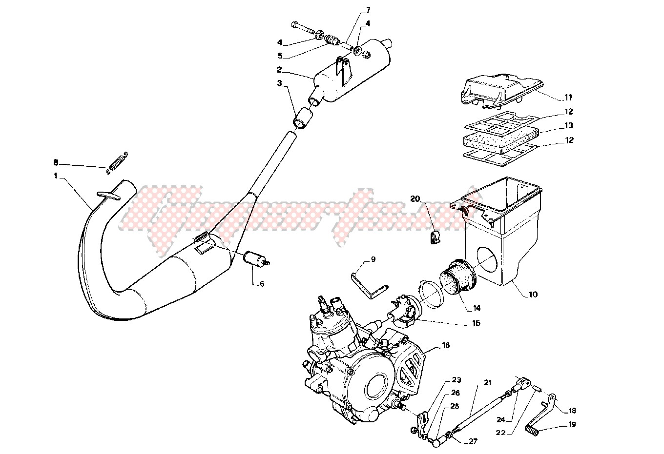 Engine-Exhaust system