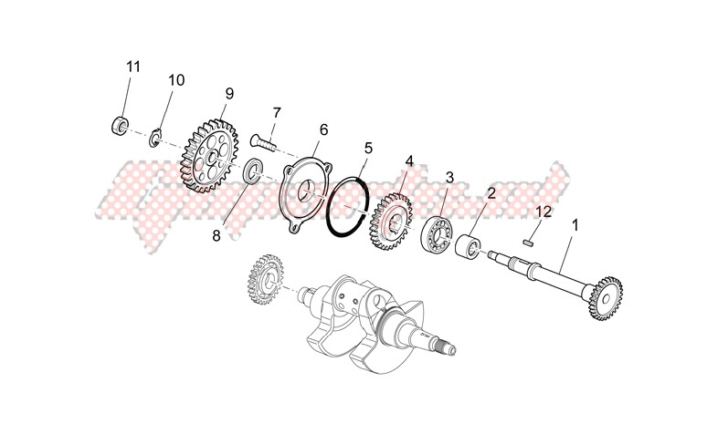 Transmission shaft image