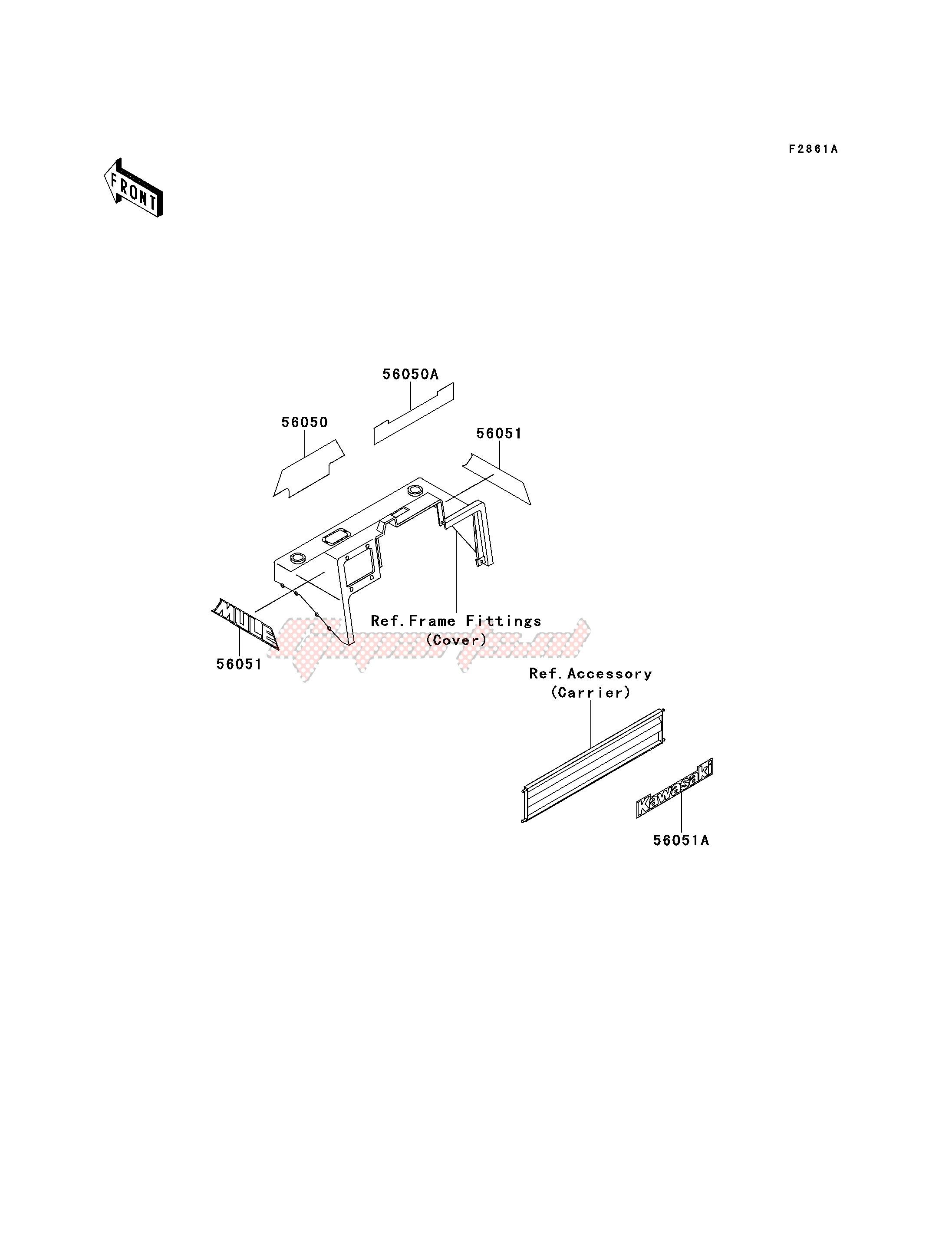 DECALS-- KAF620-B3_B4- - image