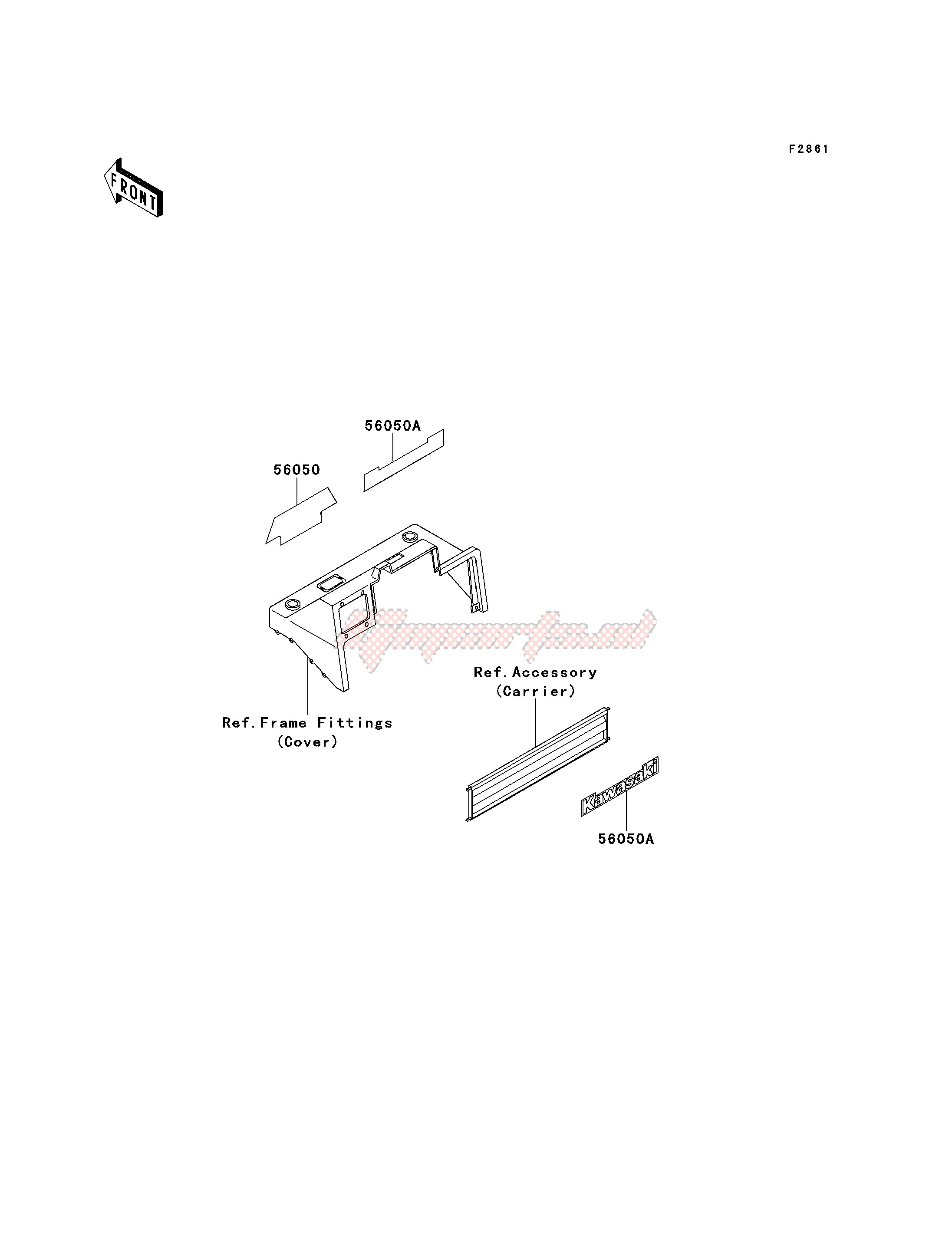DECALS-- KAF620-B1_B2- - image