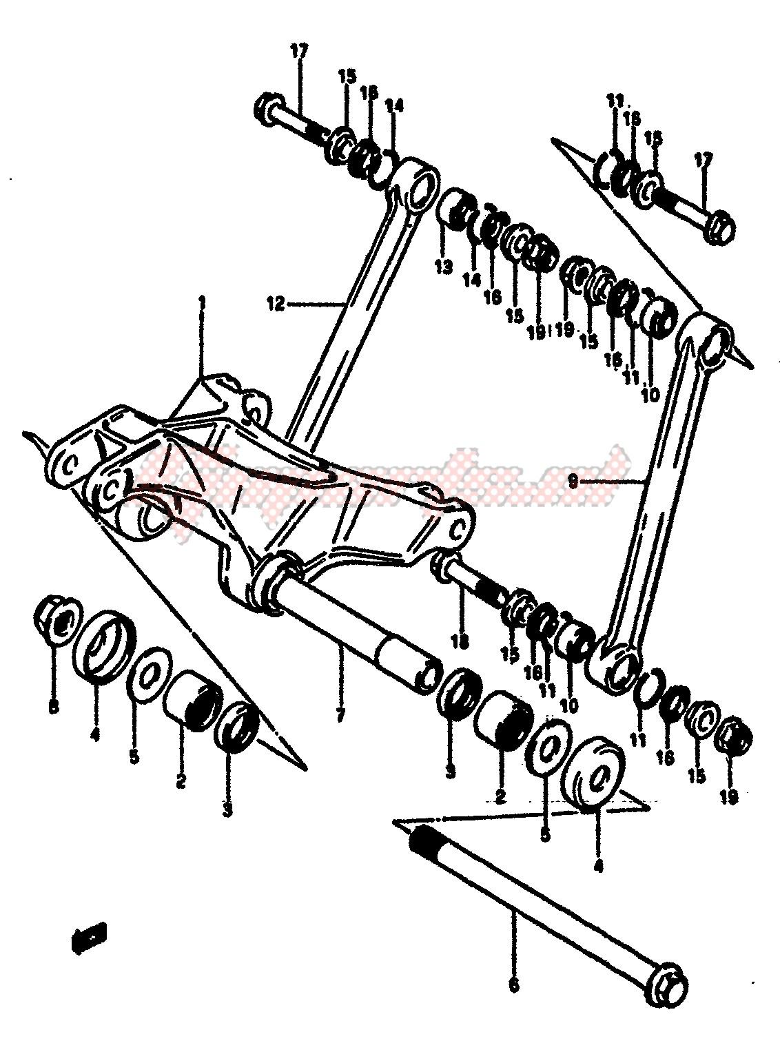 CUSHION LEVER blueprint