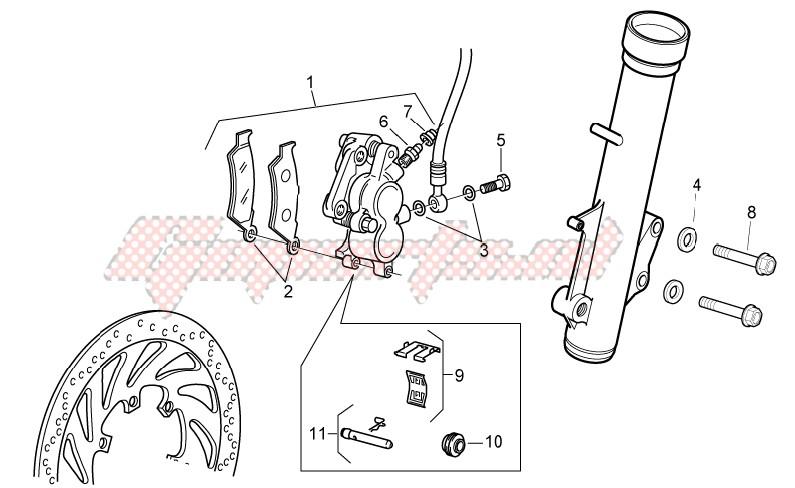 Front brake caliper II image