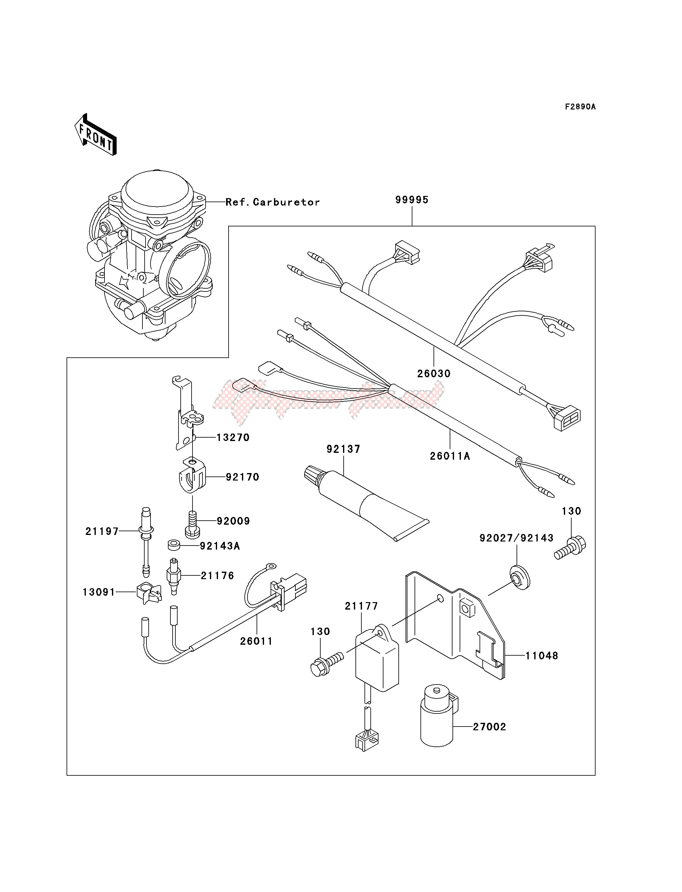 Accessories-OPTIONAL PARTS-- CARBURETOR- -
