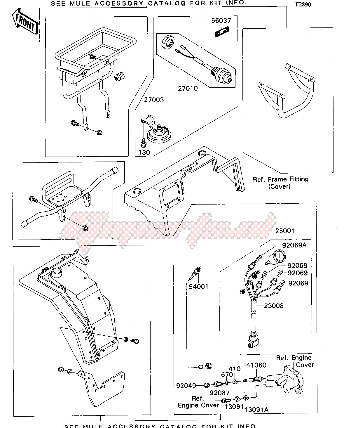 Accessories-OPTIONAL PARTS-- FRONT- -