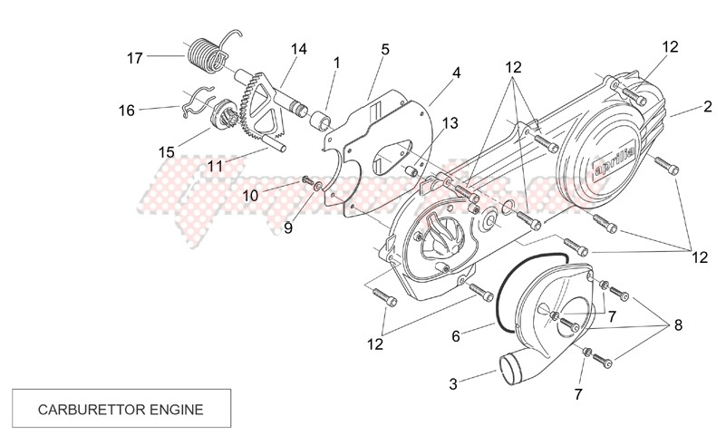 Transmission cover (Carburettor) image