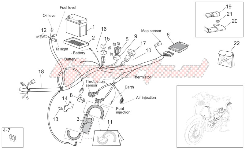Rear electrical system image