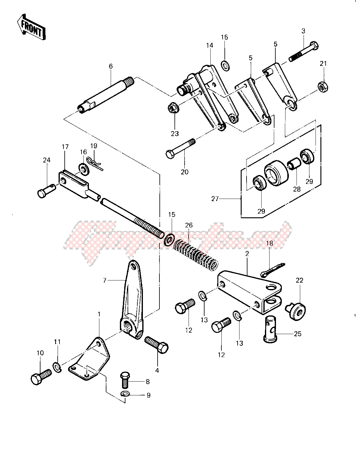 CHAIN TENSIONER -- 83 A2- - image