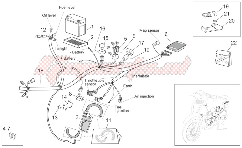 Electrical systems-Rear electrical system