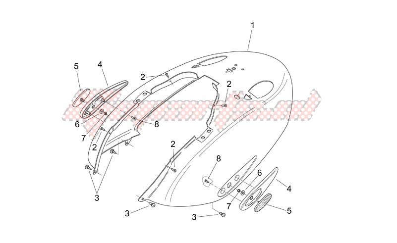 Rear body - Rear fairing image