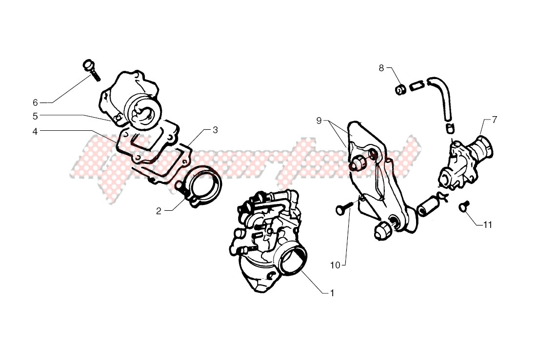 Oil pump - Carburettor image