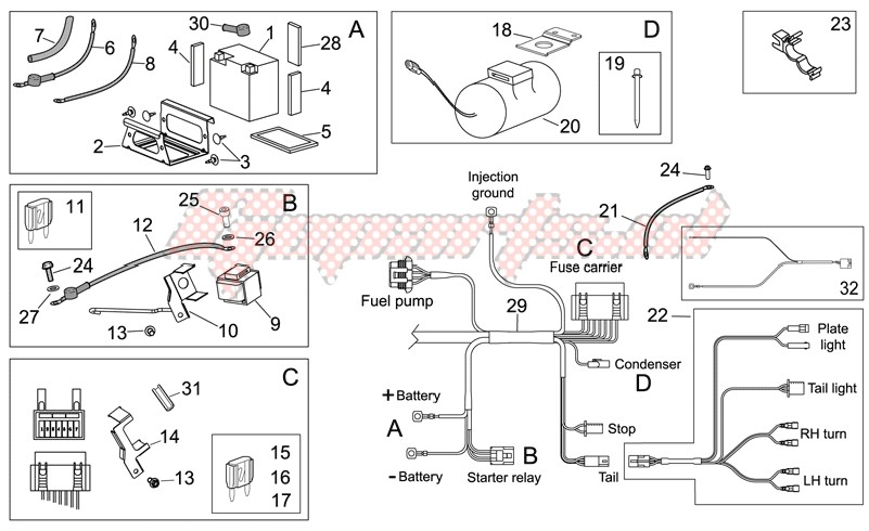 blueprint Electrical system II