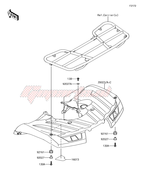 Rear Fender(s) image