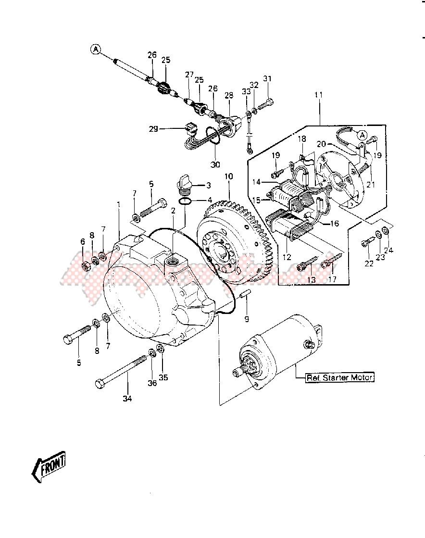 GENERATOR -- 84-86 JS440-A8_A9_A10- - image