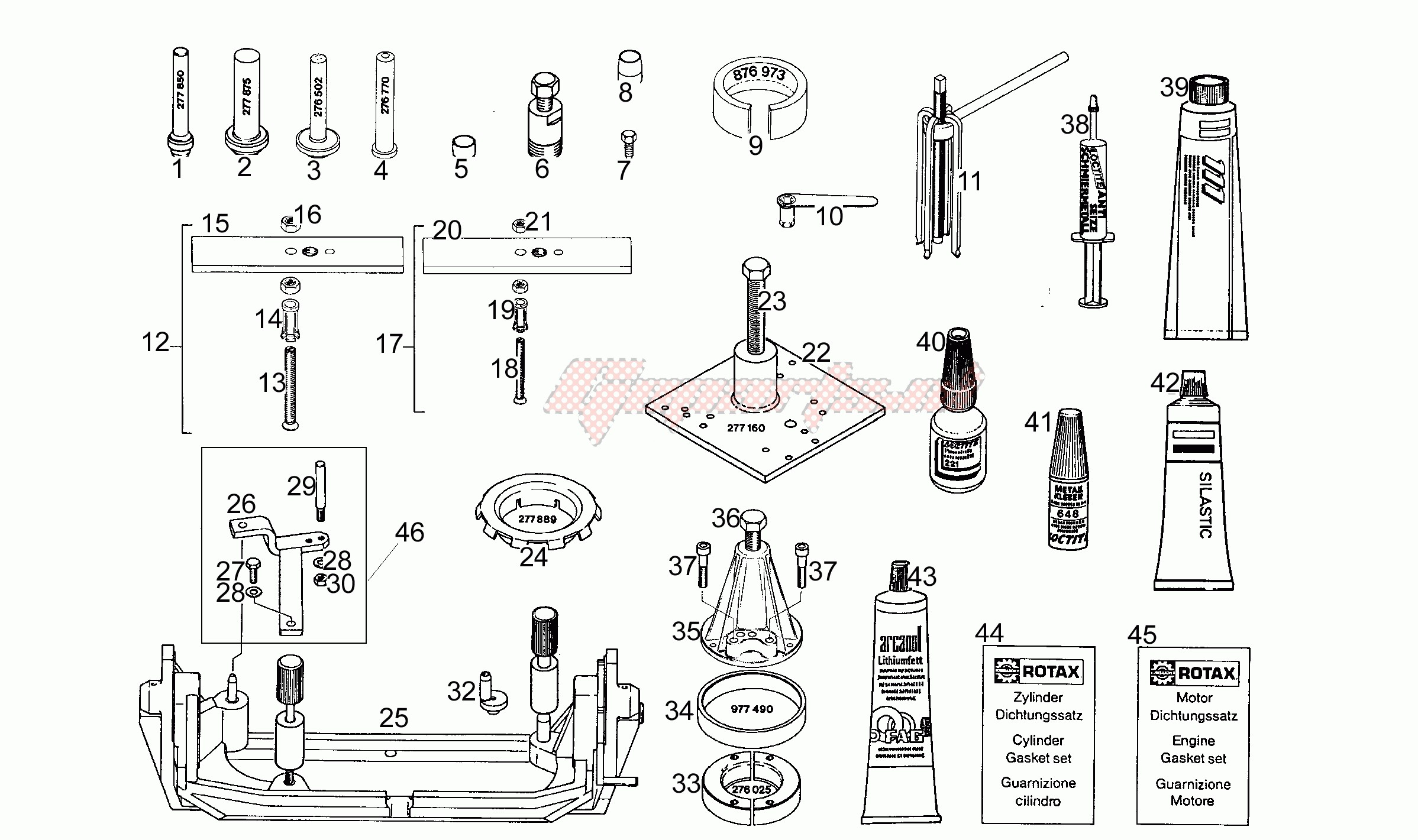 Special tools image