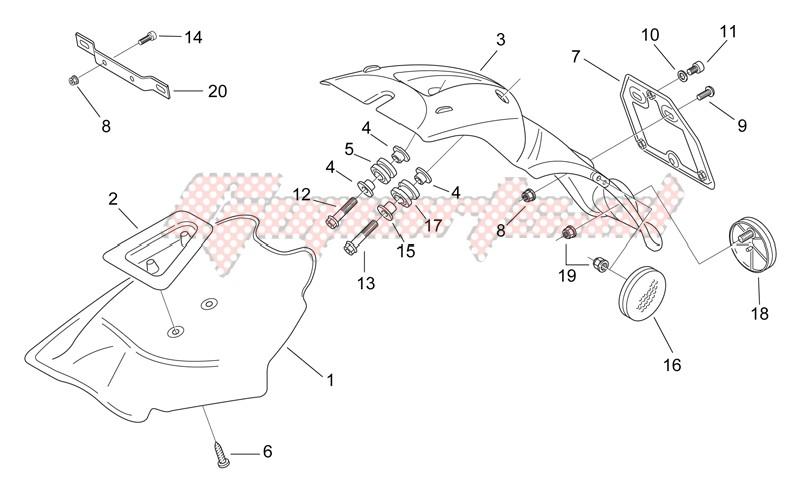 Rear body III - Mudguard image
