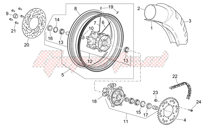 Rear wheel III image