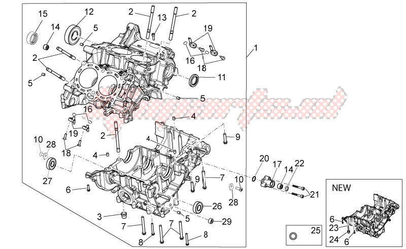 ENGINE-Crank-case I