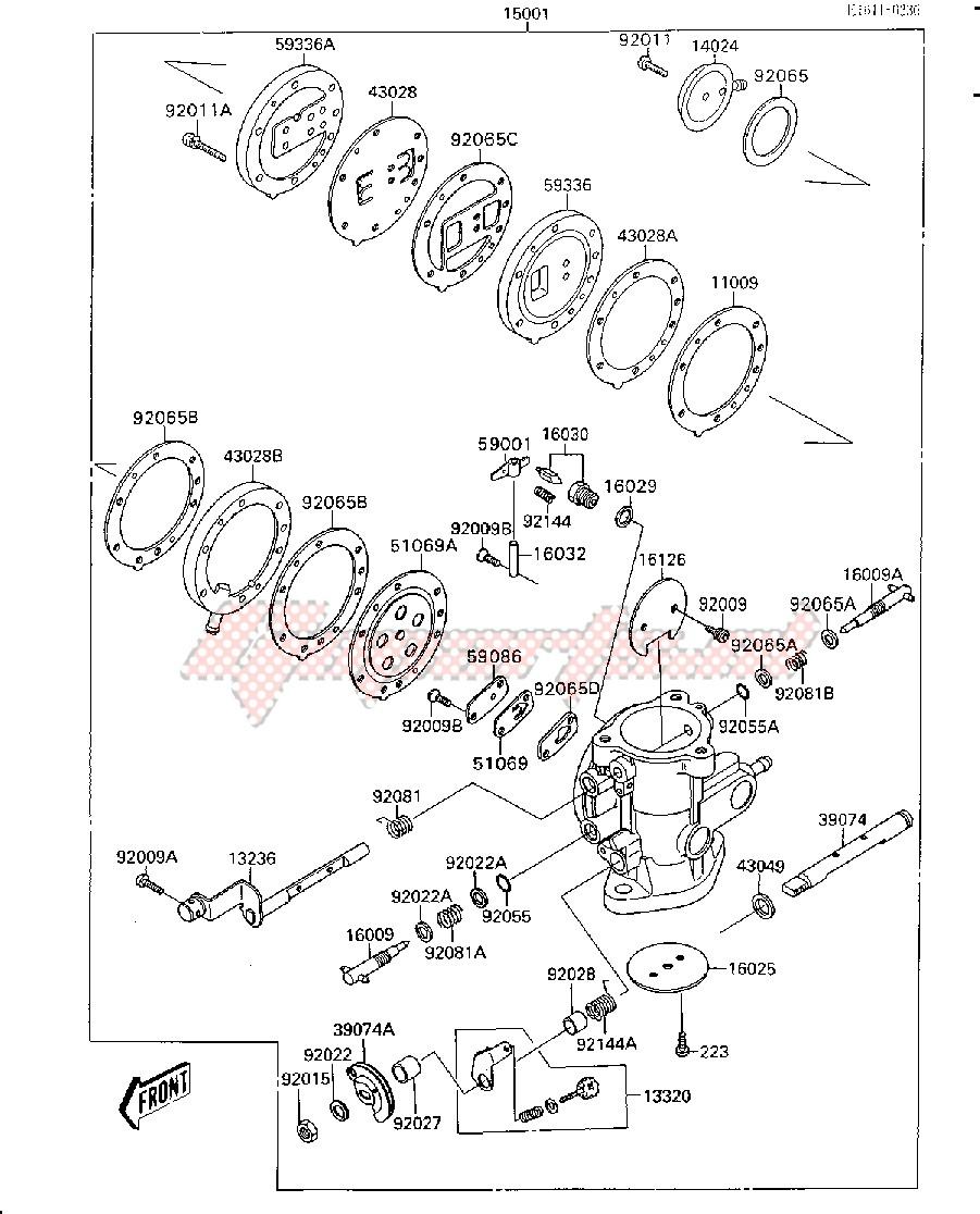 CARBURETOR -- &NAMI.JS300AE022805- - image