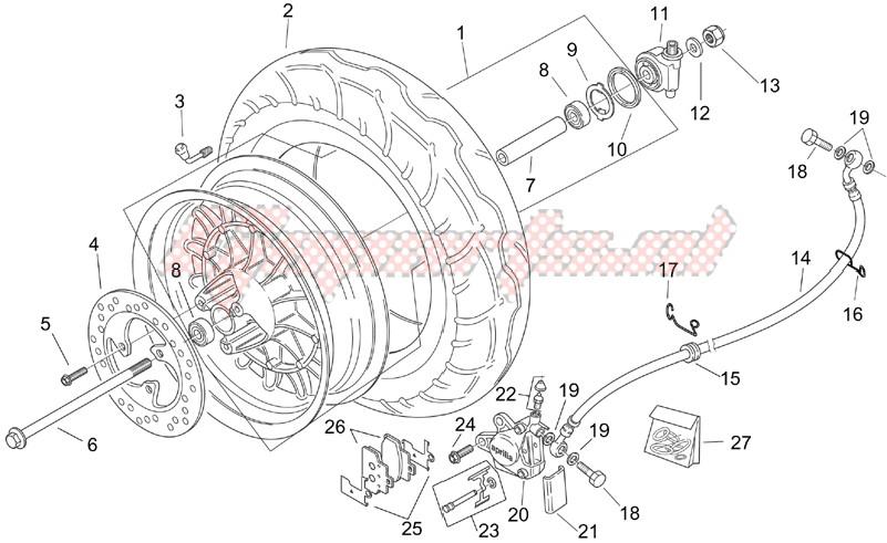 Front wheel - Retro image