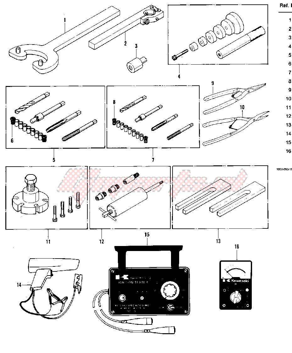 SPECIAL SERVICE TOOLS image