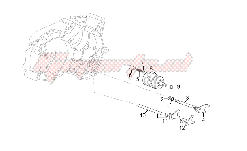 Gearbox driven shaft II image