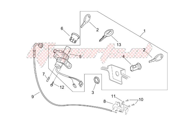 Lock hardware kit image