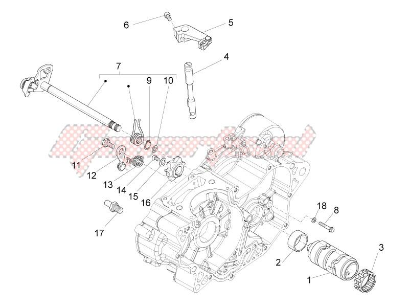 Gear box / Selector / Shift cam image