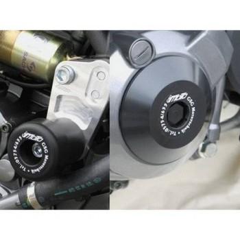 Product image: GSG-Mototechnik - 10265490-Y29 - Crash protectors Yamaha MT03 06-