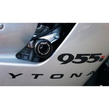 Product image: GSG-Mototechnik - 11510549-T12 - Crash protectors Triumph Daytona 955 i 01- (from vin number :132513)