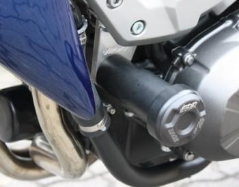 Product image: GSG-Mototechnik - 11544075-K37 - Crash protectors Kawasaki Z 750 07- with milled holding plates