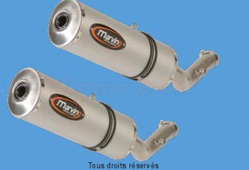 Product image: Marving - 01ALOY35EU - Silencer  MOTARD XT 660 X-R Approved - Sold as 1 pair Small Oval Alu