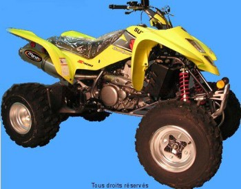 Product image: Marving - 01ALS57 - Silencer  ATV LINE LTZ 400 2003 > Approved Big Oval Alu