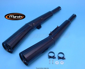 Product image: Marving - 01H2009 - Silencer  MASTER CB 900F/1100F Approved - Sold as 1 pair Black