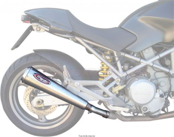 Product image: Marving - 01RSD4 - Silencer  RACING STEEL MONSTER Approved Sold as 1 pair Inox Coniques Embout Ø110
