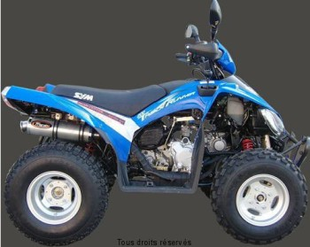 Product image: Marving - 01SESY44 - Silencer  ATV LINE TRUCK RUNNER 200 Approved Rond Ø 100 Alu
