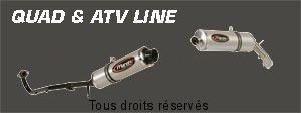 Product image: Marving - 01SEXR38 - Silencer  ATV LINE 150/170/250 04 Approved Rond Ø 100 Alu