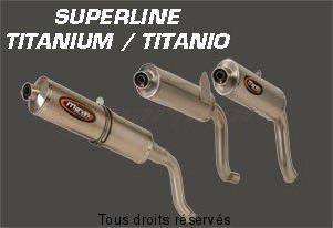 Product image: Marving - 01TIT46EU - Silencer  SUPERLINE SPEEDTRIPLE 03 Approved Big Oval Titanium