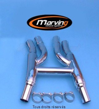 Product image: Marving - 01Y2116 - Link Pipe XJ 900 Not Approved Chrome